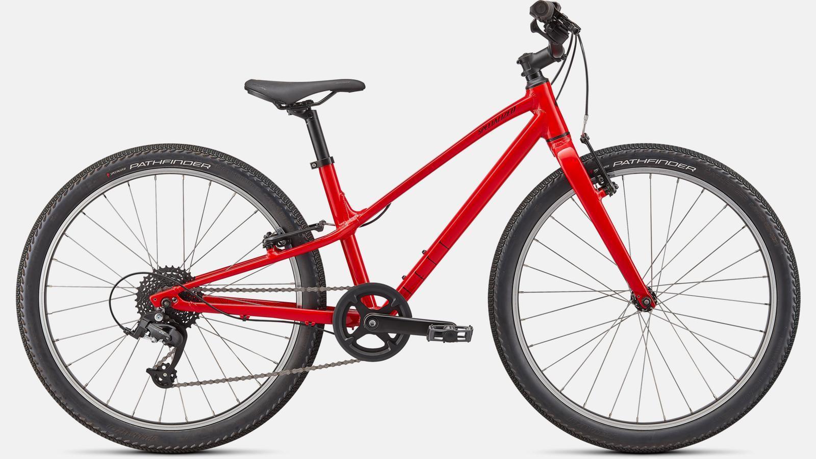 Jett 24   GLOSS FLO RED / BLACK